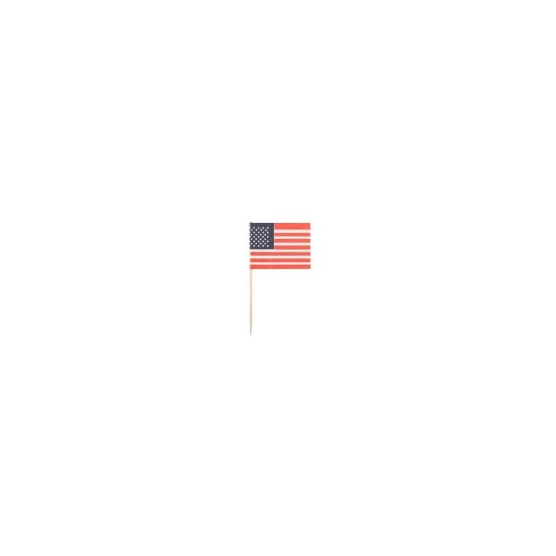 STUZZICADENTI BANDIERA USA
