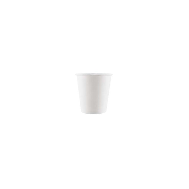 BICCHIERE CAFFE' CARTONCINO BIANCO