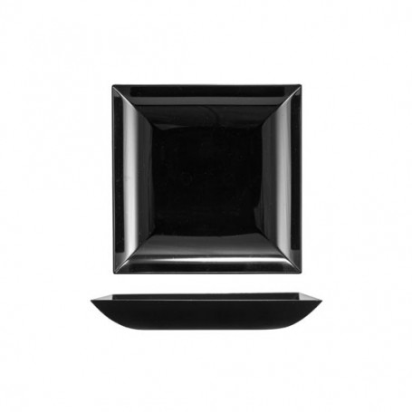 FINGER FOOD PIATTINO DESIGN NERO