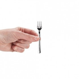 MINI POSATE SILVER FINGER FOOD FORCHETTA