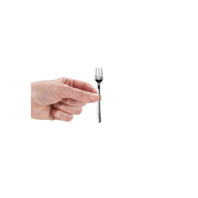 MINI POSATE SILVER FINGER FOOD FORCHETTA