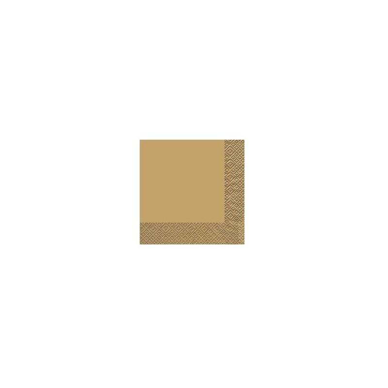 TOVAGLIOLO CLASSICO 3 VELI 33x33 ORO
